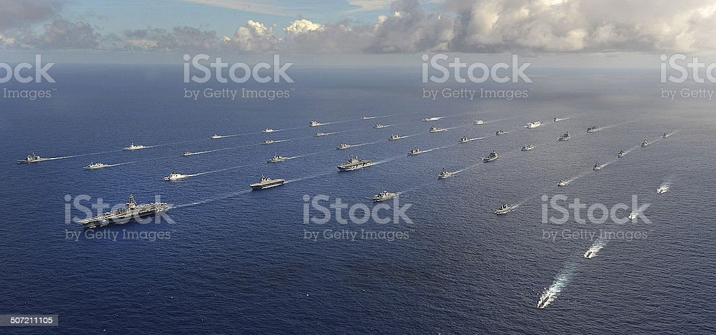 Sea Power stock photo