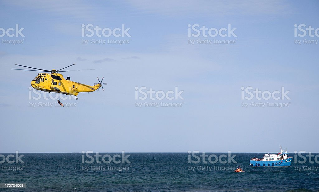 Sea Rescue royalty-free stock photo