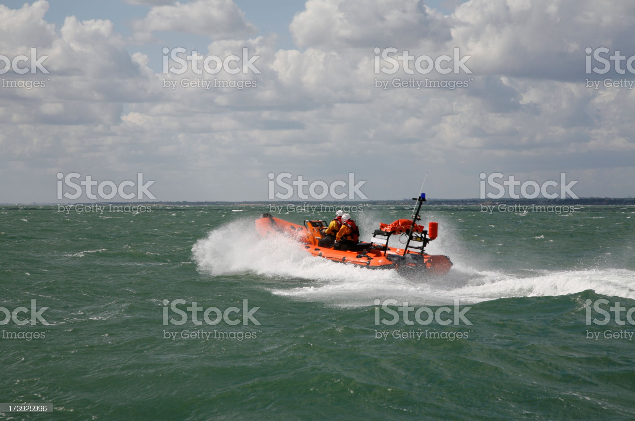 Sea Rescue royalty-free stock photo