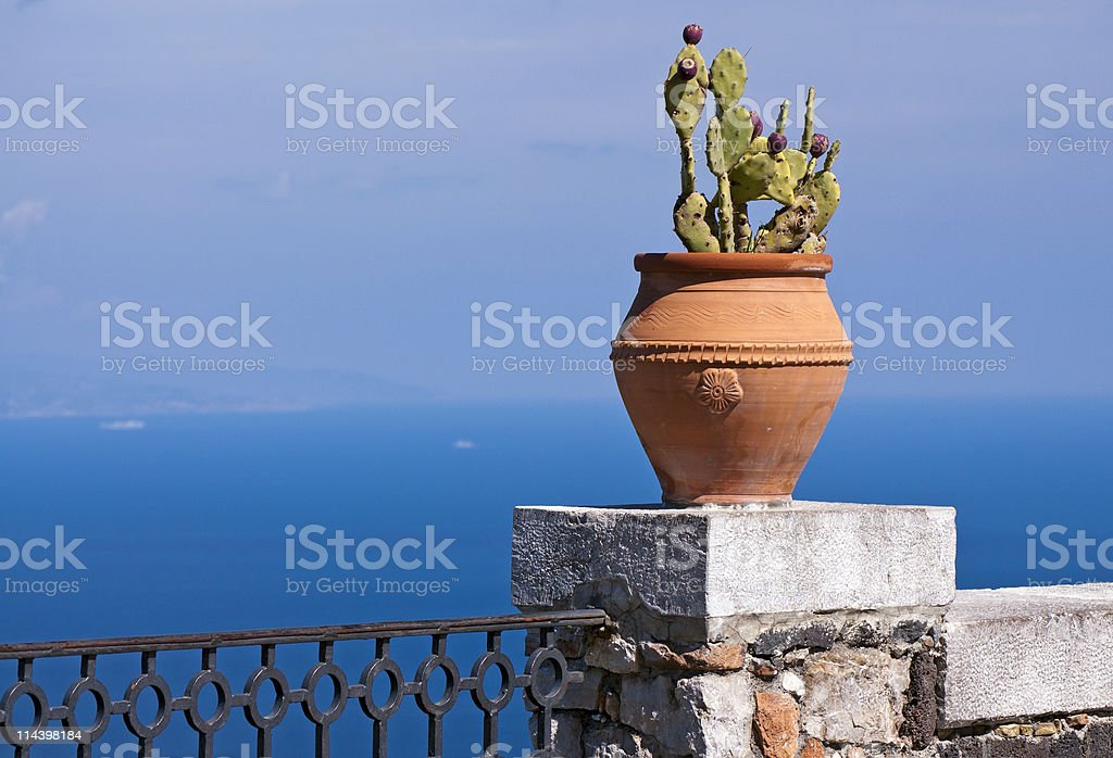 Sea resort stock photo