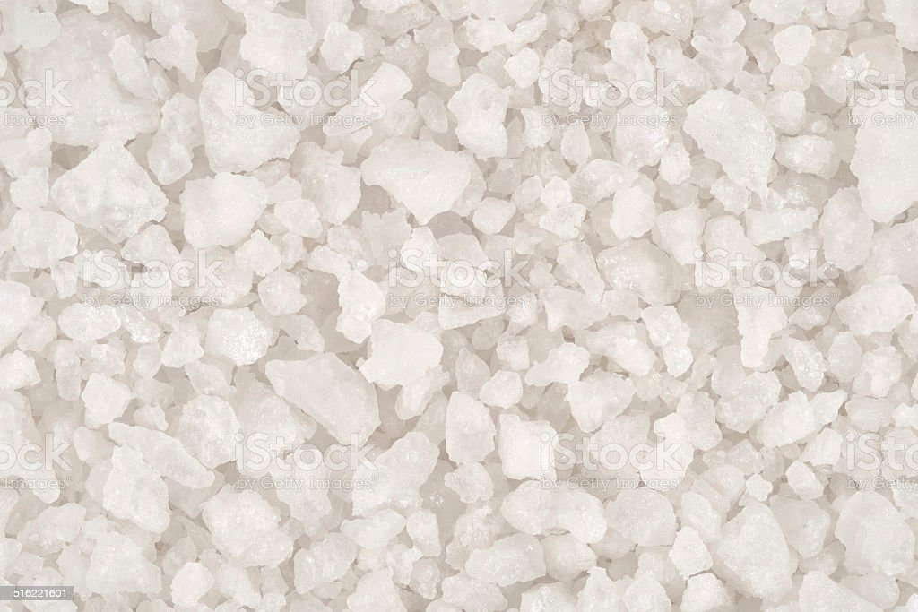 Sea salt background stock photo