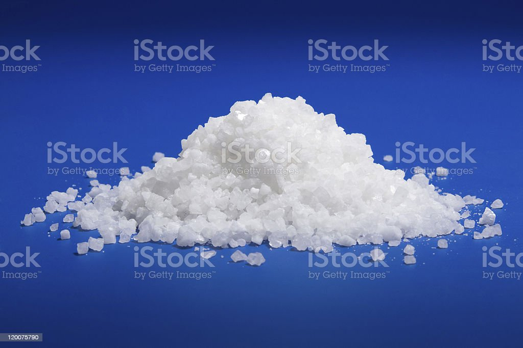 Sea salt cristal royalty-free stock photo