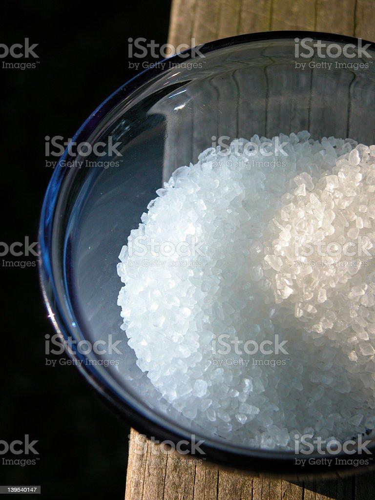 sea salt royalty-free stock photo