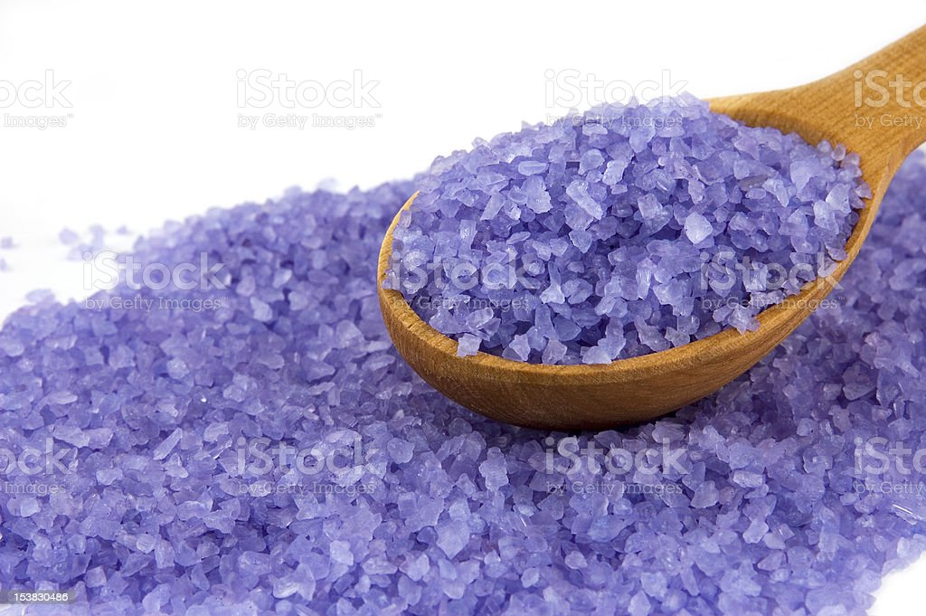 Sea salt royalty-free stock photo
