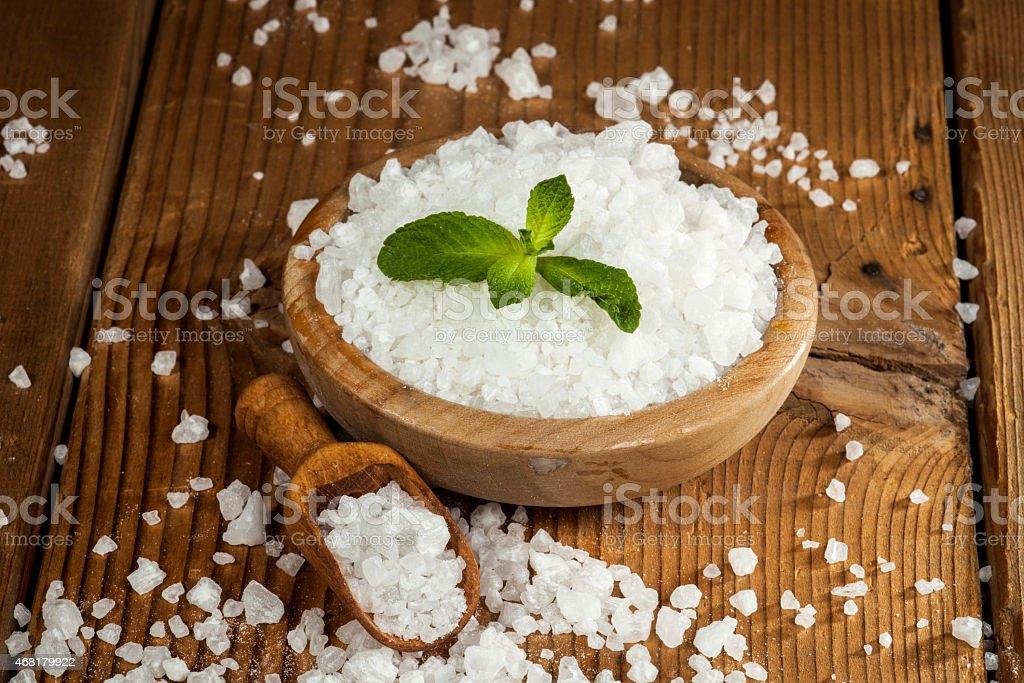 Sea Salt stock photo