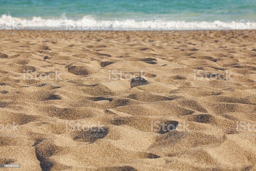 sea, sand and dunes stock photo