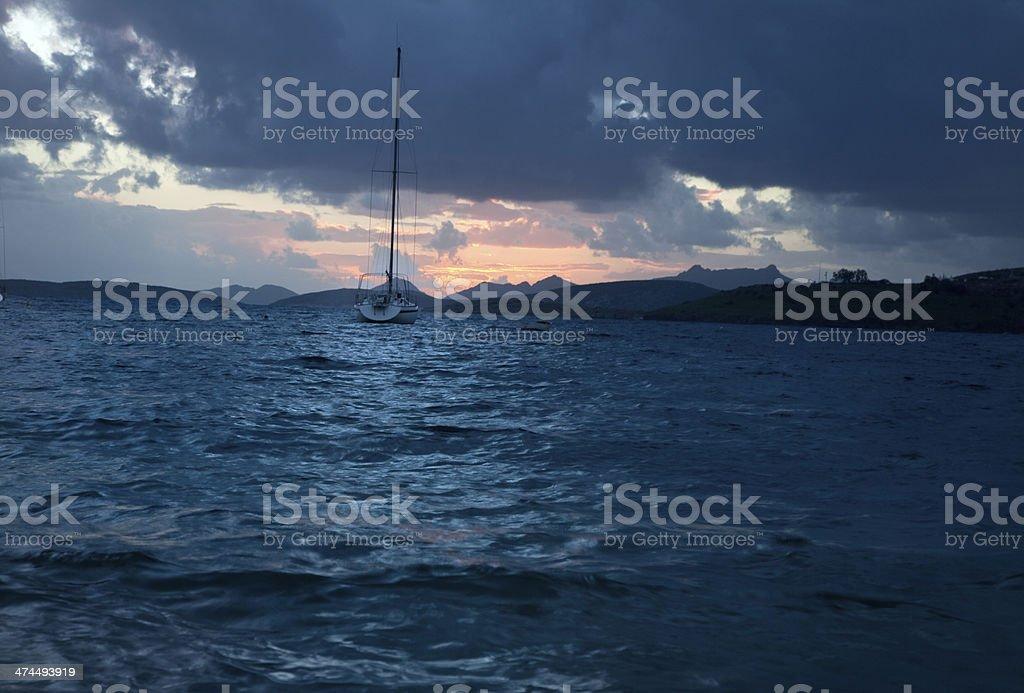sea scape stock photo