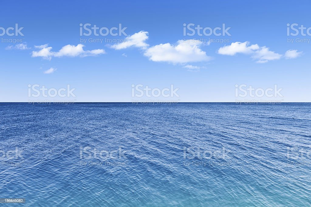Sea Scenic stock photo