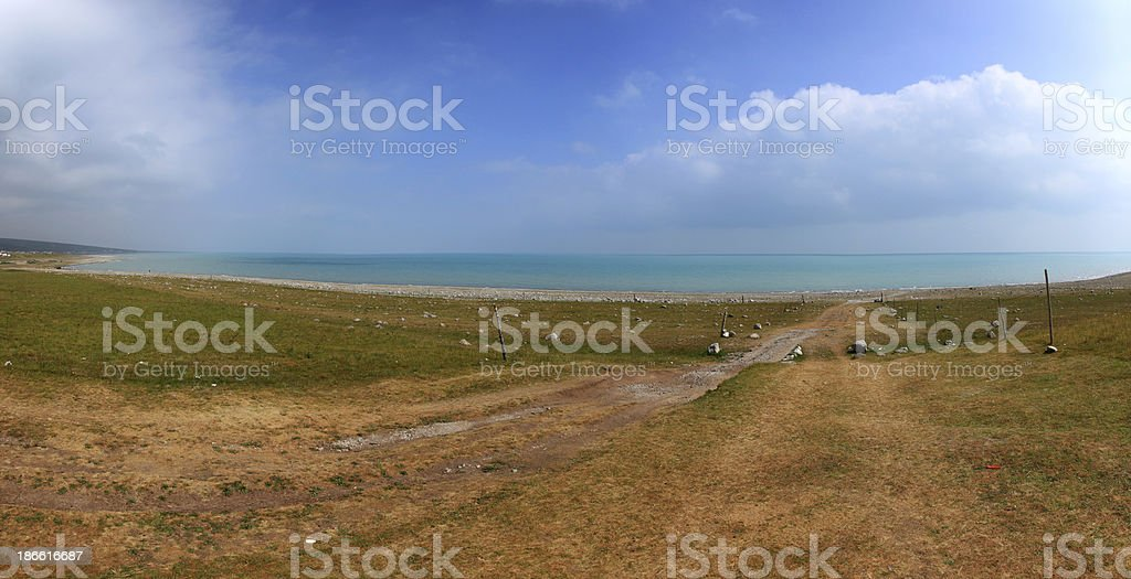 sea shore stock photo