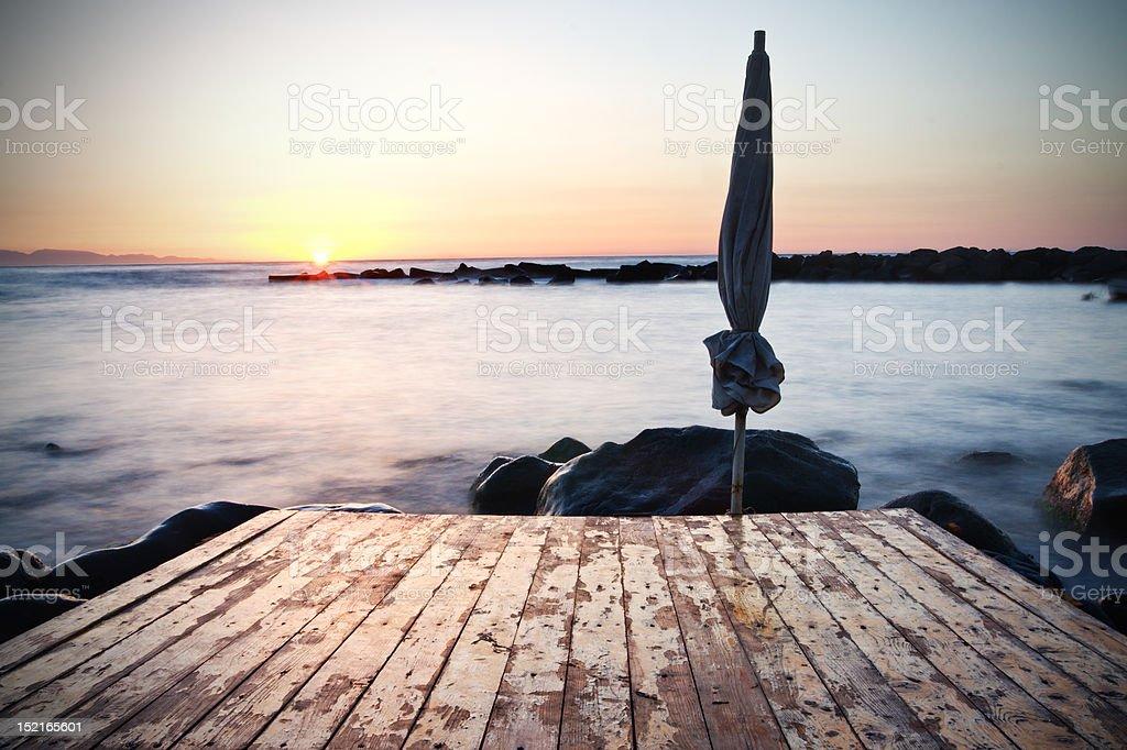 Sea shot royalty-free stock photo
