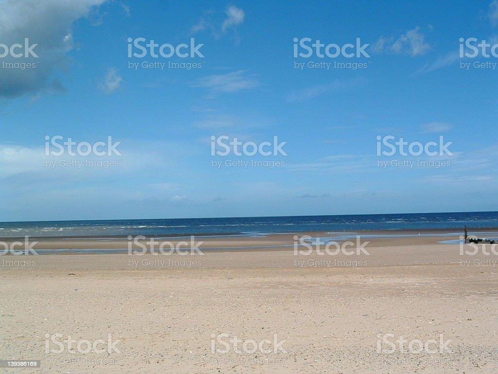 Sea side royalty-free stock photo