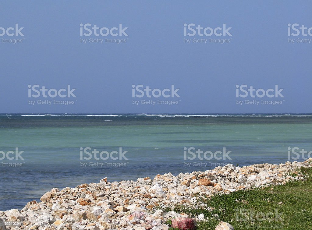 Sea Side stock photo