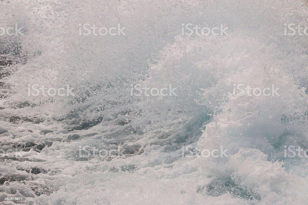 Meer Welle splash Lizenzfreies stock-foto