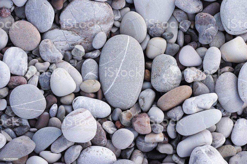 Sea stone background stock photo