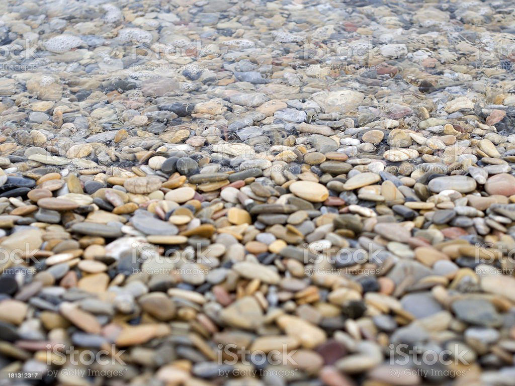 Sea, Stone, Gravel royalty-free stock photo