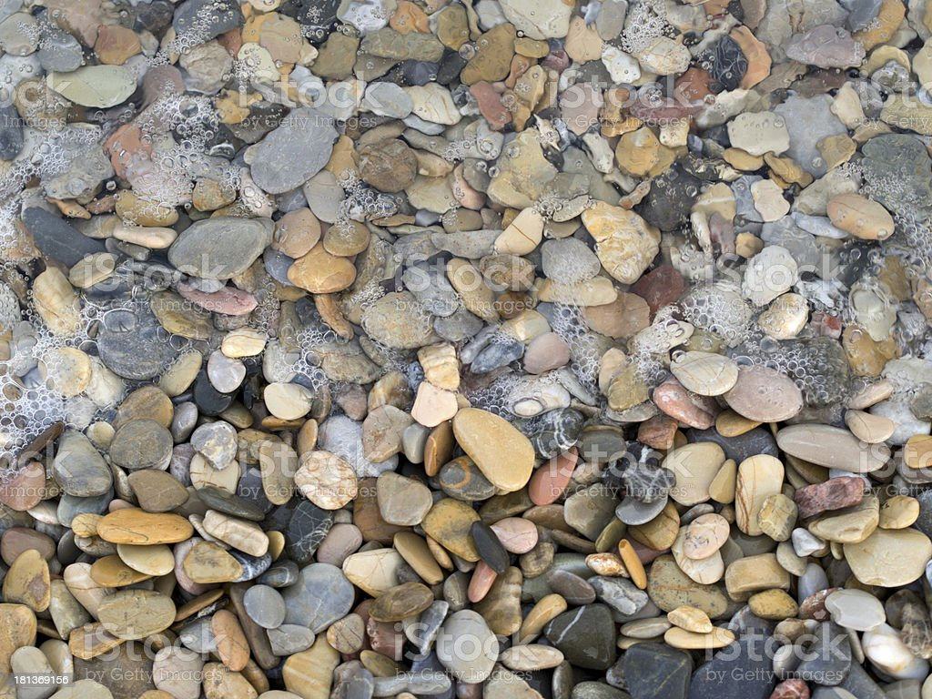 Sea, Stone, Gravel royalty-free stock photo