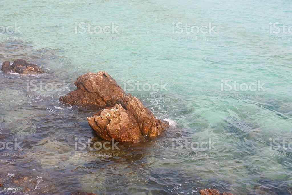 Sea stones stock photo