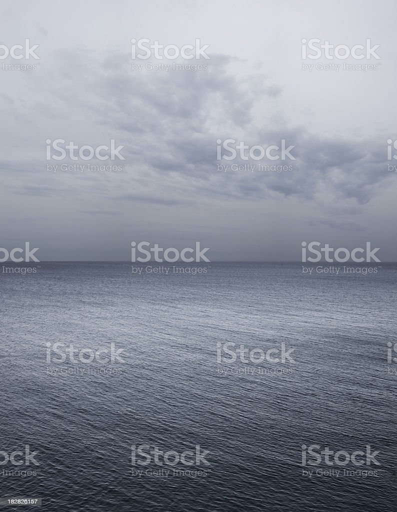 Sea. Storm coming. royalty-free stock photo