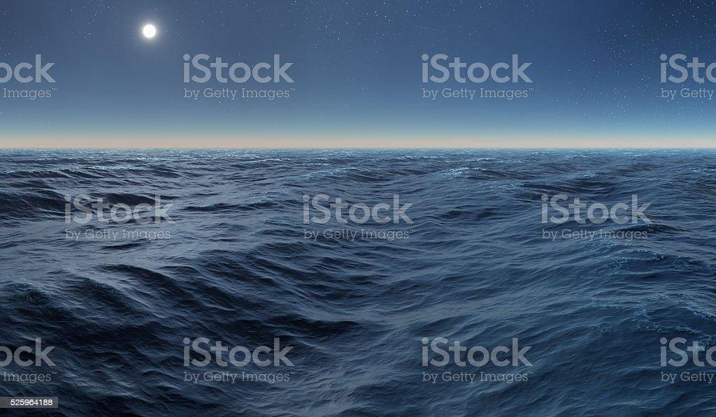 sea & sun stock photo
