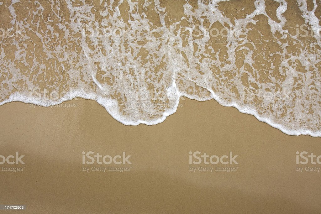 Sea surf stock photo