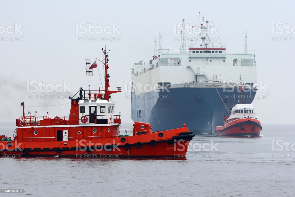 Sea Traffic royalty-free stock photo