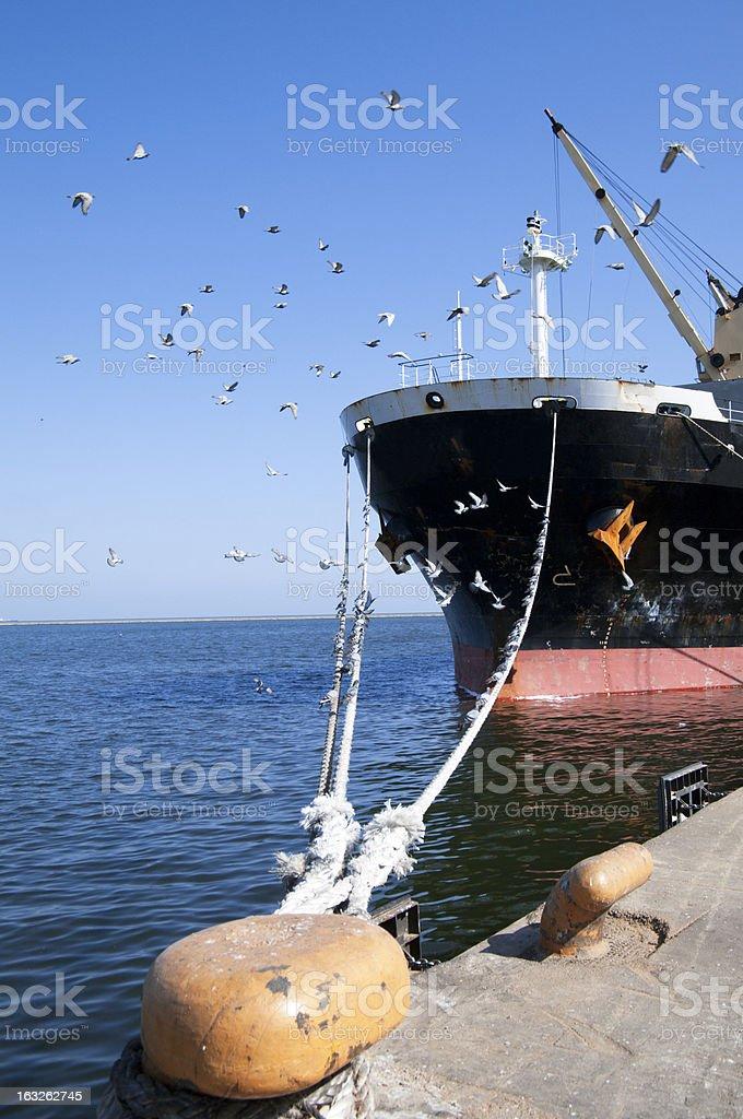 Sea Transportation-Shipping royalty-free stock photo