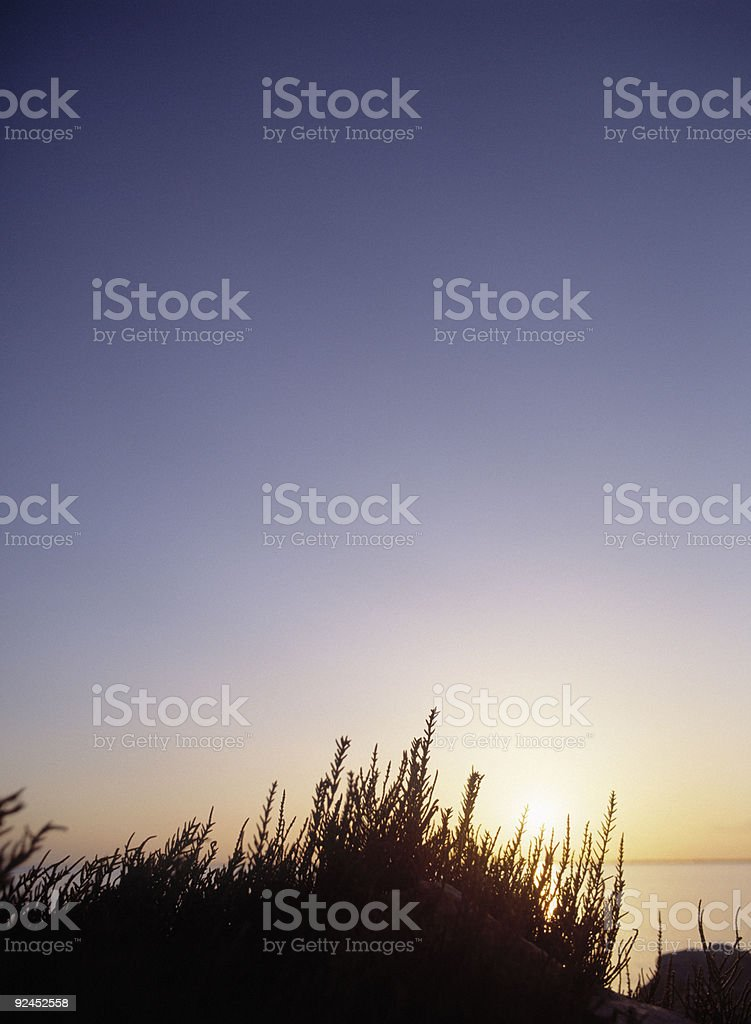 Sea view background royalty-free stock photo