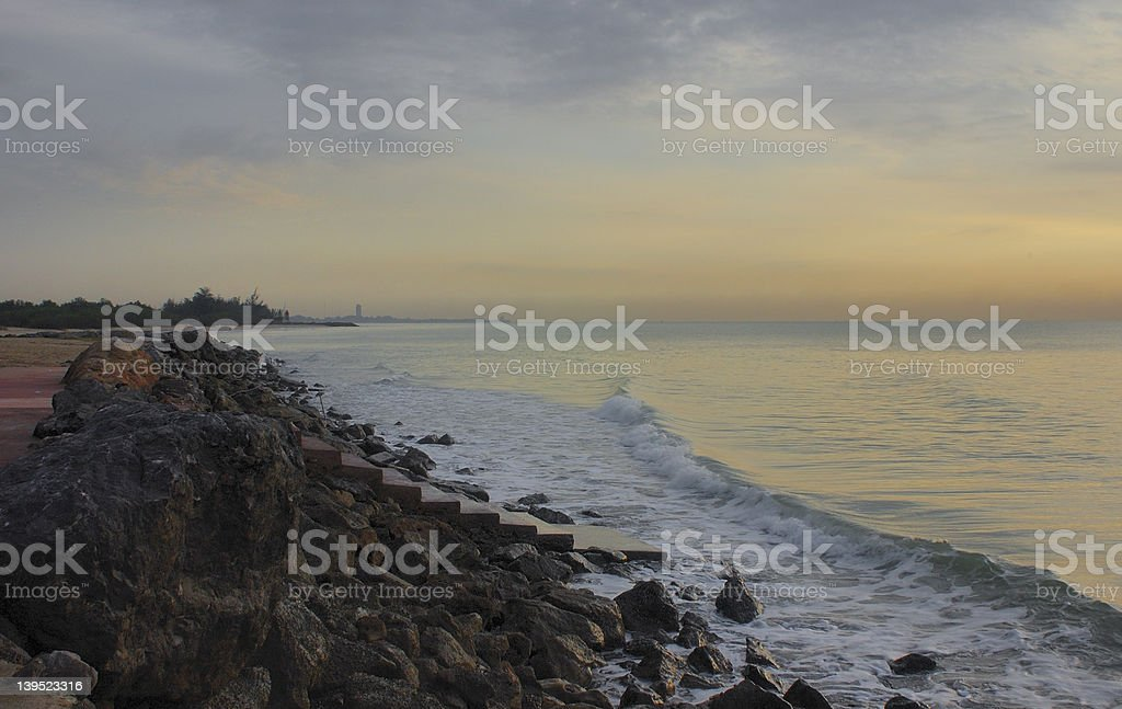 sea view01 royalty-free stock photo