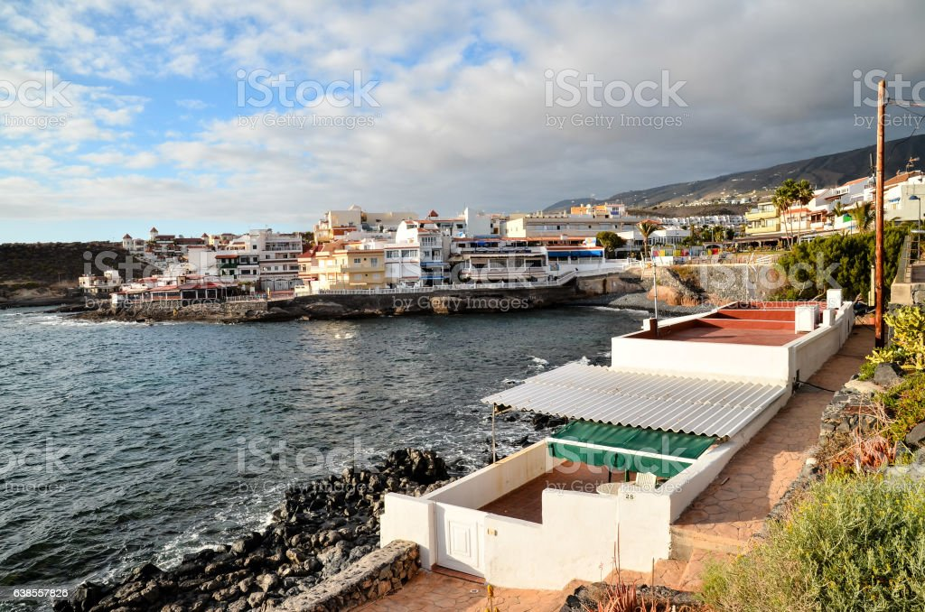 Sea Village stock photo