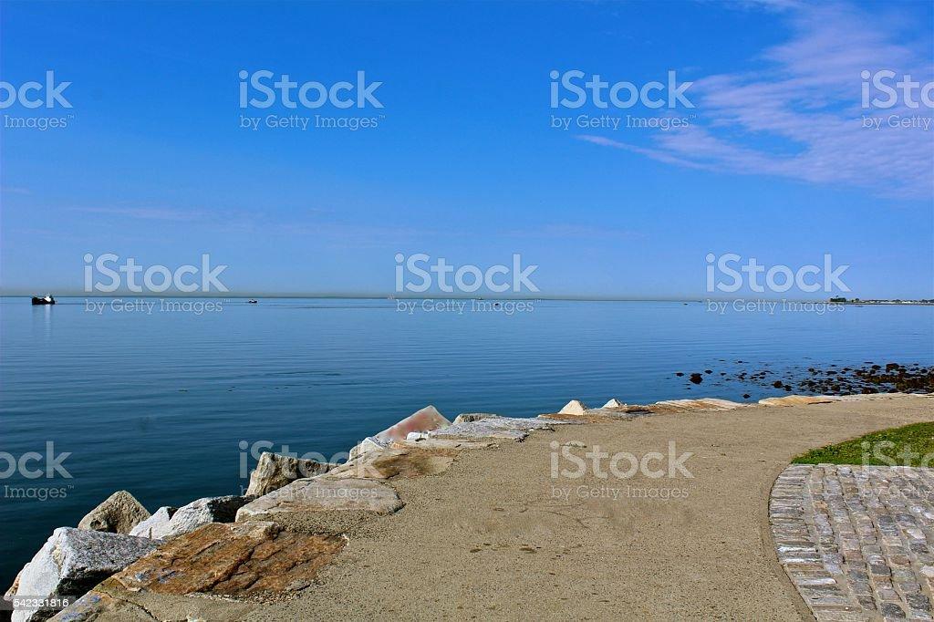 Sea Walk stock photo