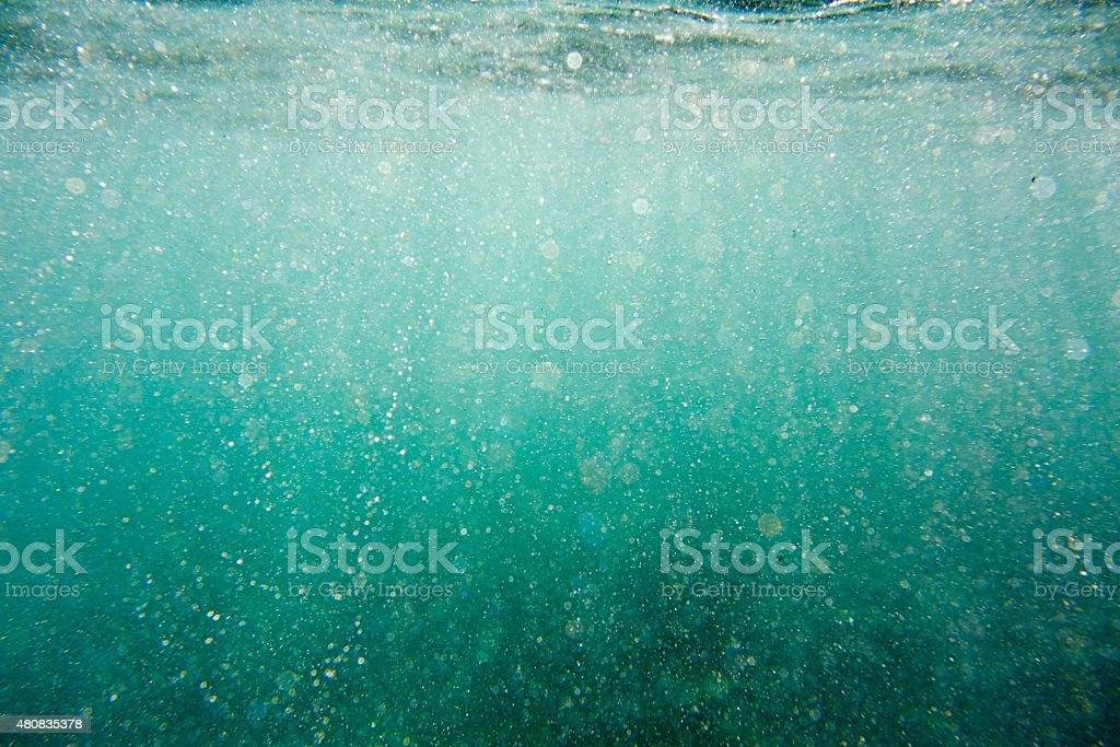 Sea wash stock photo