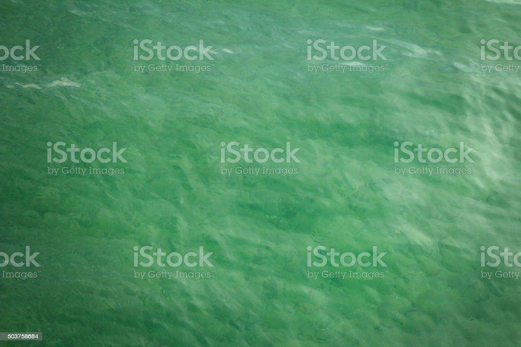 Sea water background stock photo