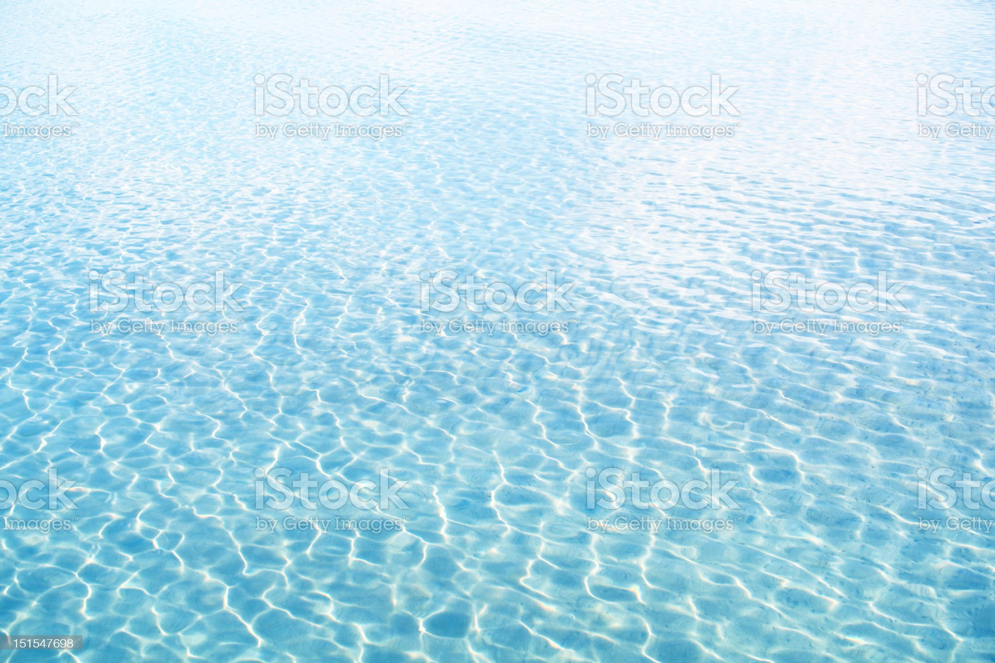 Sea Water royalty-free stock photo