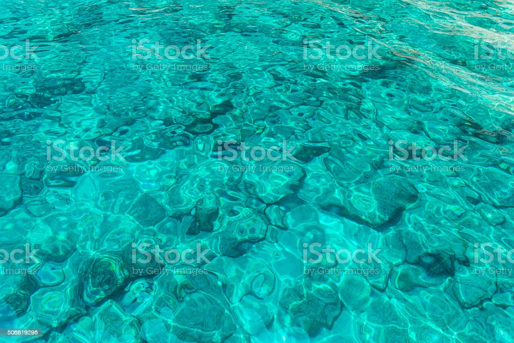 Sea Water stock photo