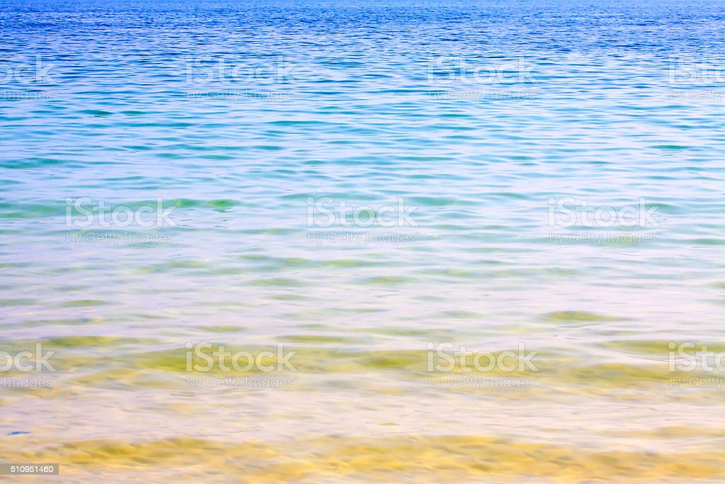 Sea water surface. stock photo