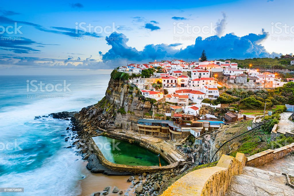 Azenhas do Mar stock photo