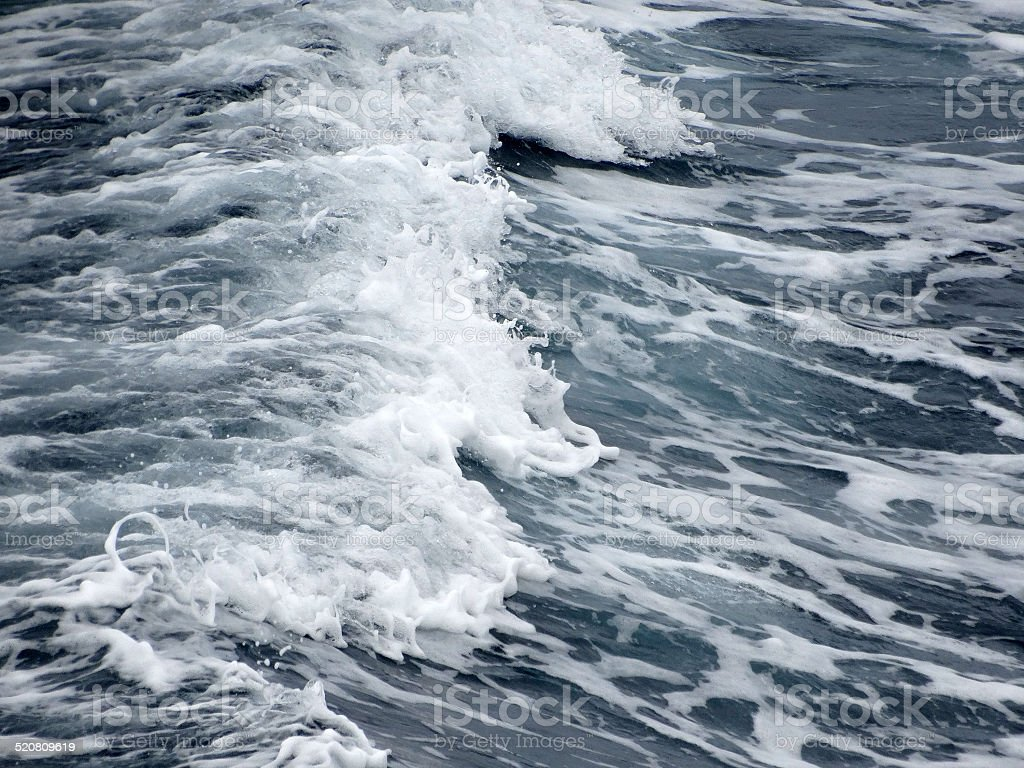 sea wave stock photo