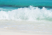 Sea waves nature background