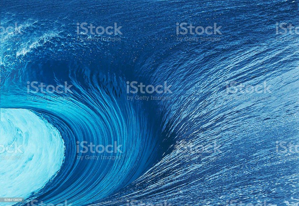 sea waves stock photo