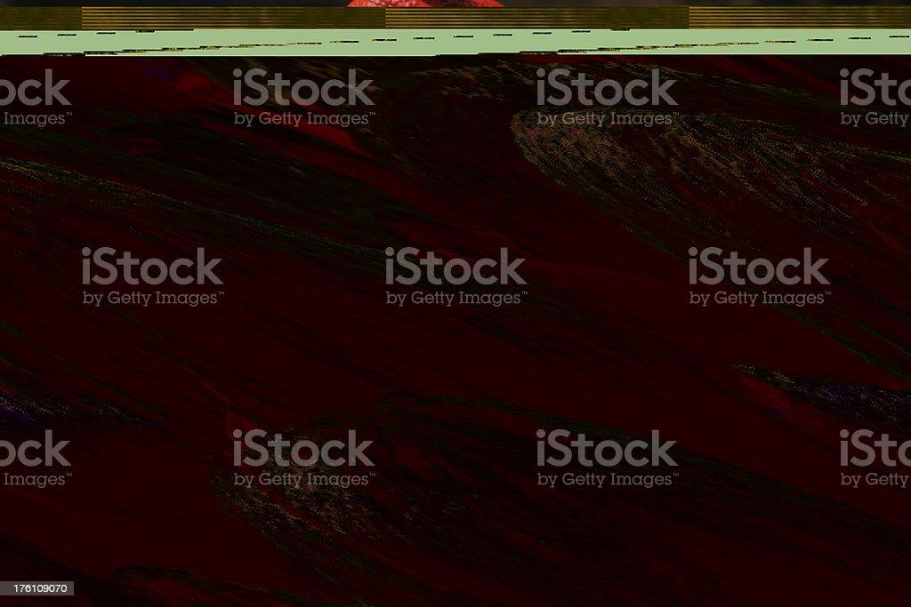 Sea Weed and Rocks stock photo