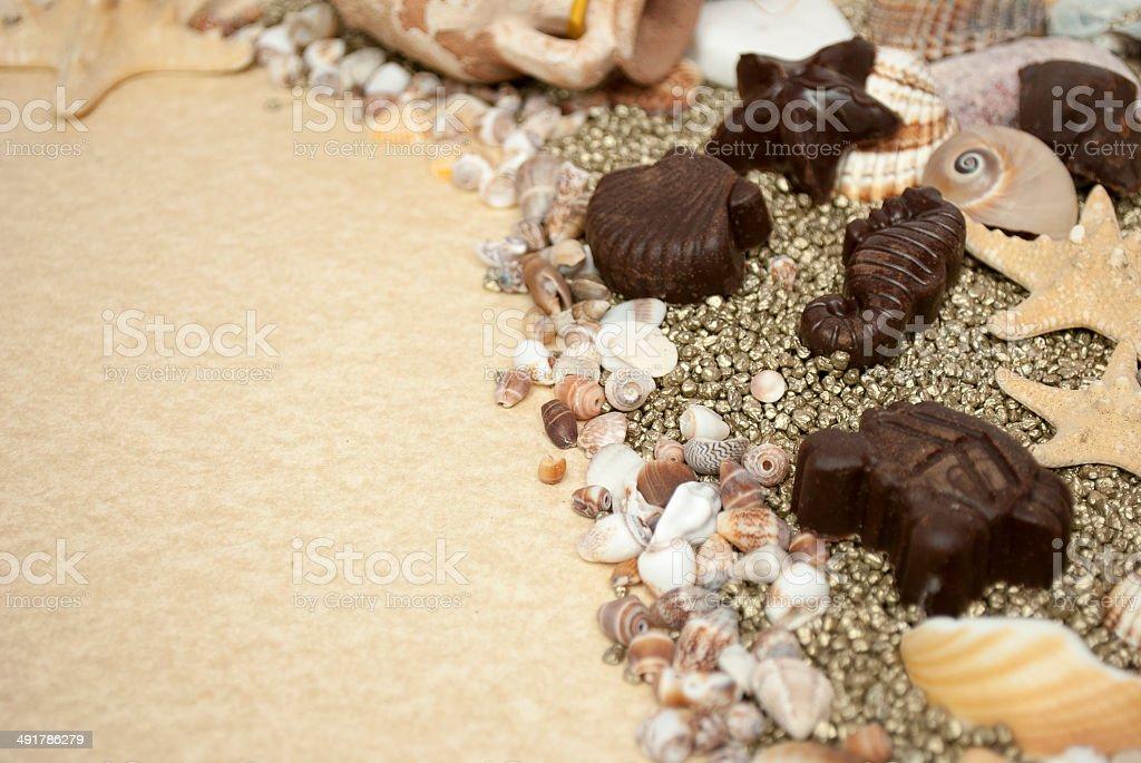Sea world stock photo
