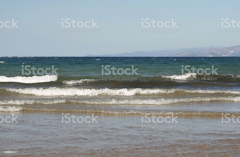 Sea wаves. royalty-free stock photo