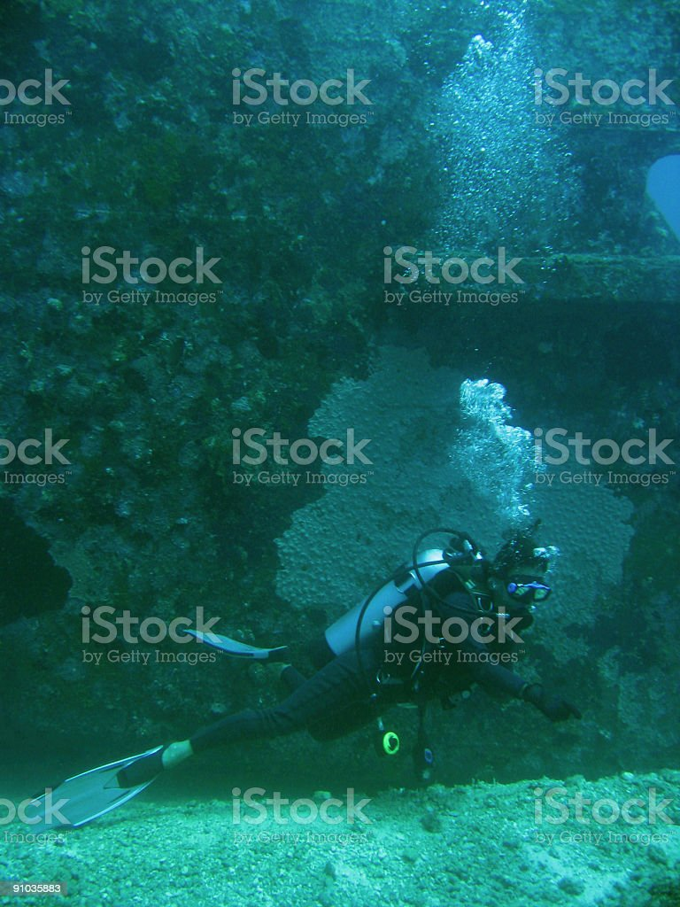 seabed explorer stock photo