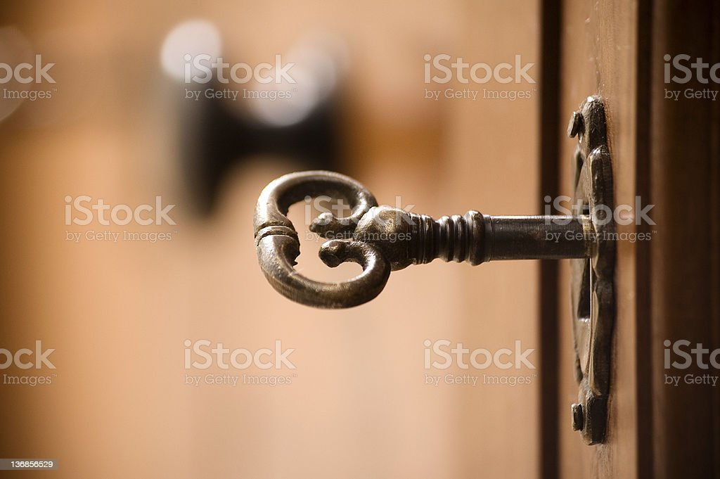 seacret key stock photo