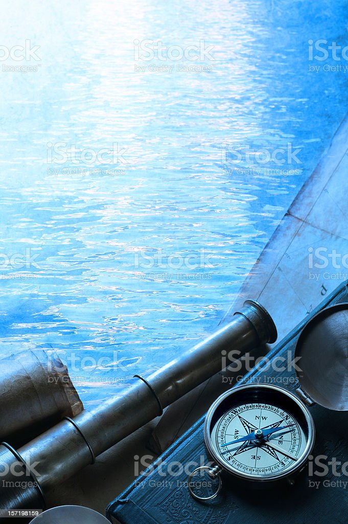 Seafarer stock photo