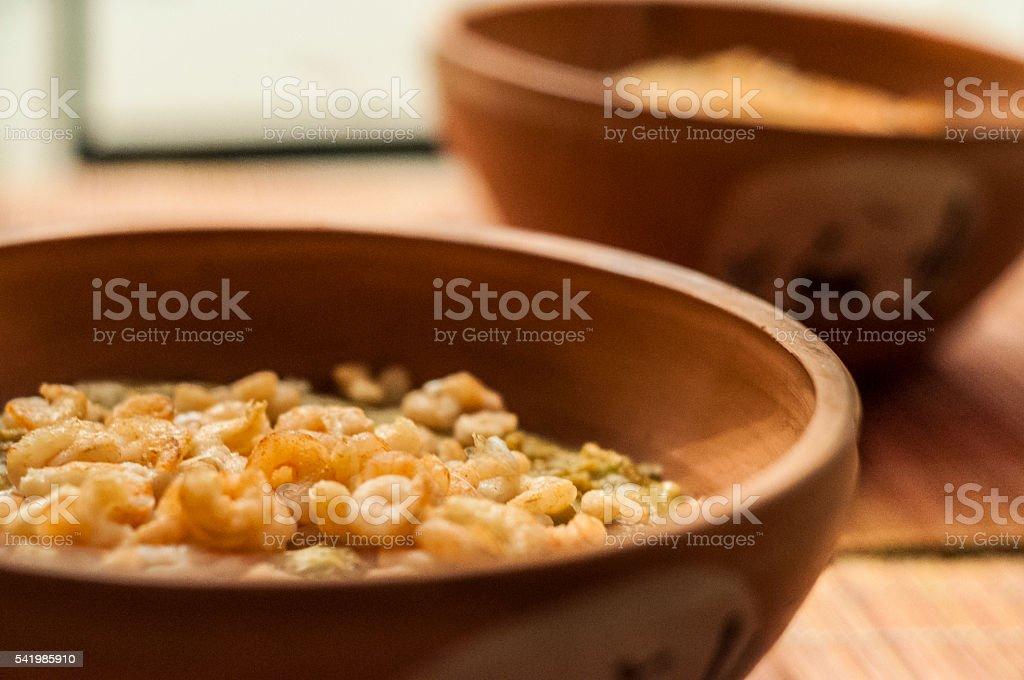 seafood casserole 2 stock photo