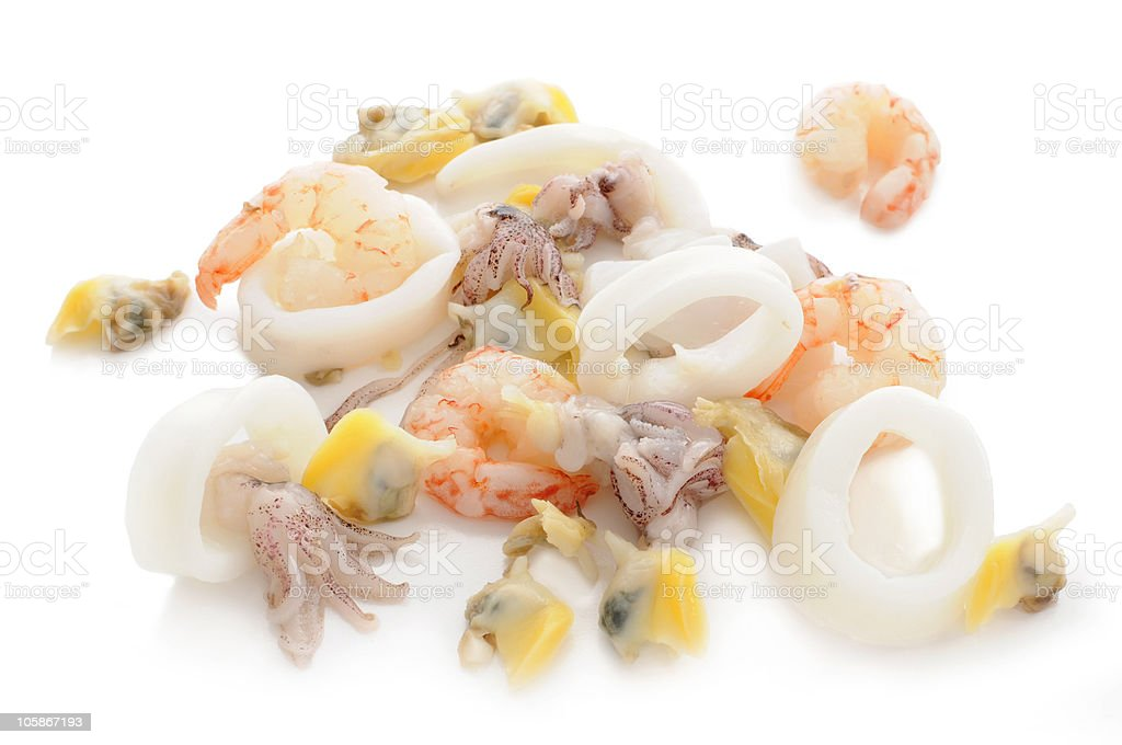 seafood cocktail royalty-free stock photo