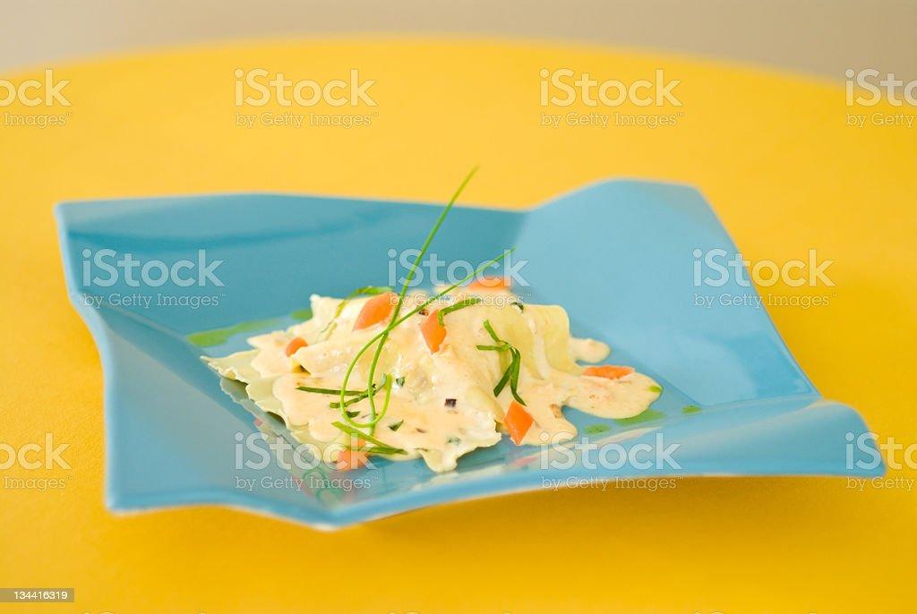 Seafood Cr stock photo