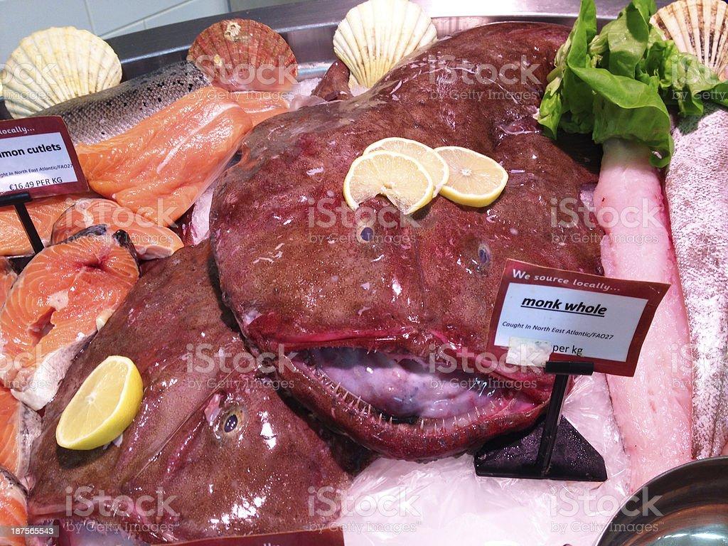 Seafood Display stock photo
