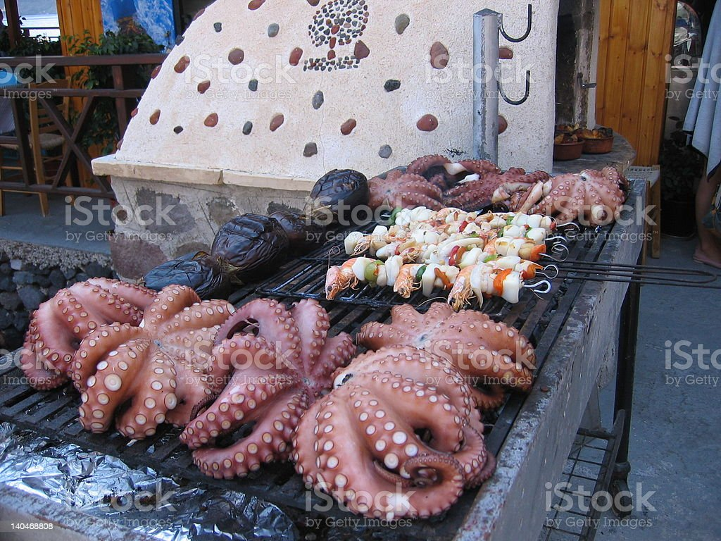 Seafood Feast royalty-free stock photo